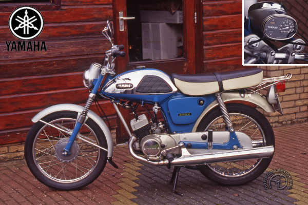 Yamaha YL 1 Twin Jet motocyclette motorrad motorcycle vintage classic classique scooter roller moto scooter