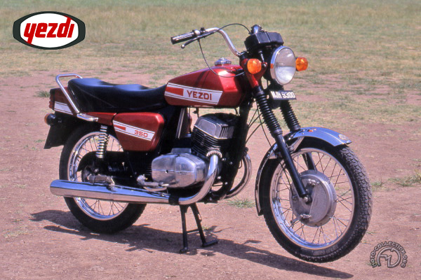 Collection Moto Yezdi 350 1992-1993
