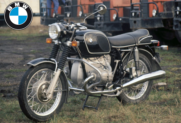 BMW R 75/5 motocyclette motorrad motorcycle vintage classic classique scooter roller moto scooter