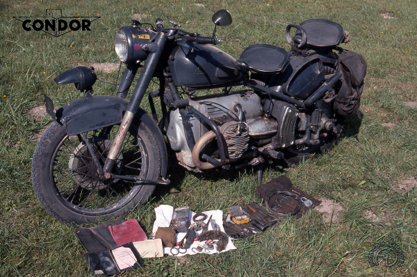 Condor A 580/1 motocyclette motorrad motorcycle vintage classic classique scooter roller moto scooter