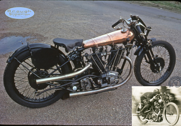 Brough Superior SS 100 Record motocyclette motorrad motorcycle vintage classic classique scooter roller moto scooter