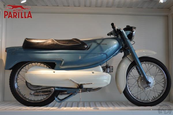 Parilla Slughi / Ramjet motocyclette motorrad motorcycle vintage classic classique scooter roller moto scooter
