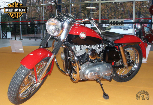Collection Moto Harley Davidson 883 1957-