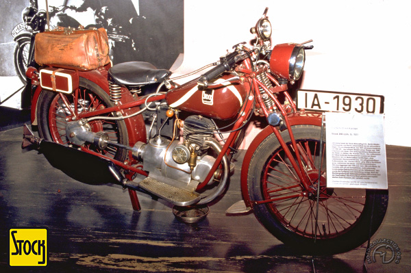 Collection Moto Stock 200 1931-1933
